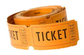 rouleau ticket